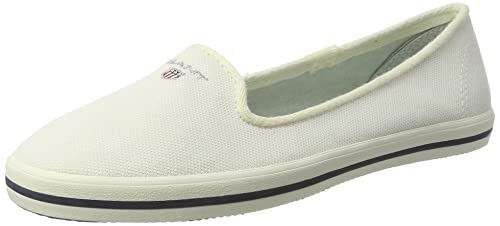 GANT New Haven, Mocasines para Mujer, Blanco (Bone Beige G15), 36 EU: Amazon.es: Zapatos y complementos