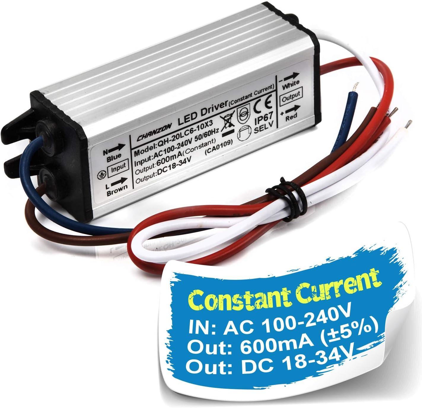 Transformers 240V AC 4 x M-Elec Dimmable LED Drivers 18-33V DC