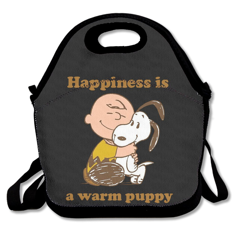 Tesu Bags Happiness is a Warm Puppy all' aperto/viaggi/picnic lunch bag