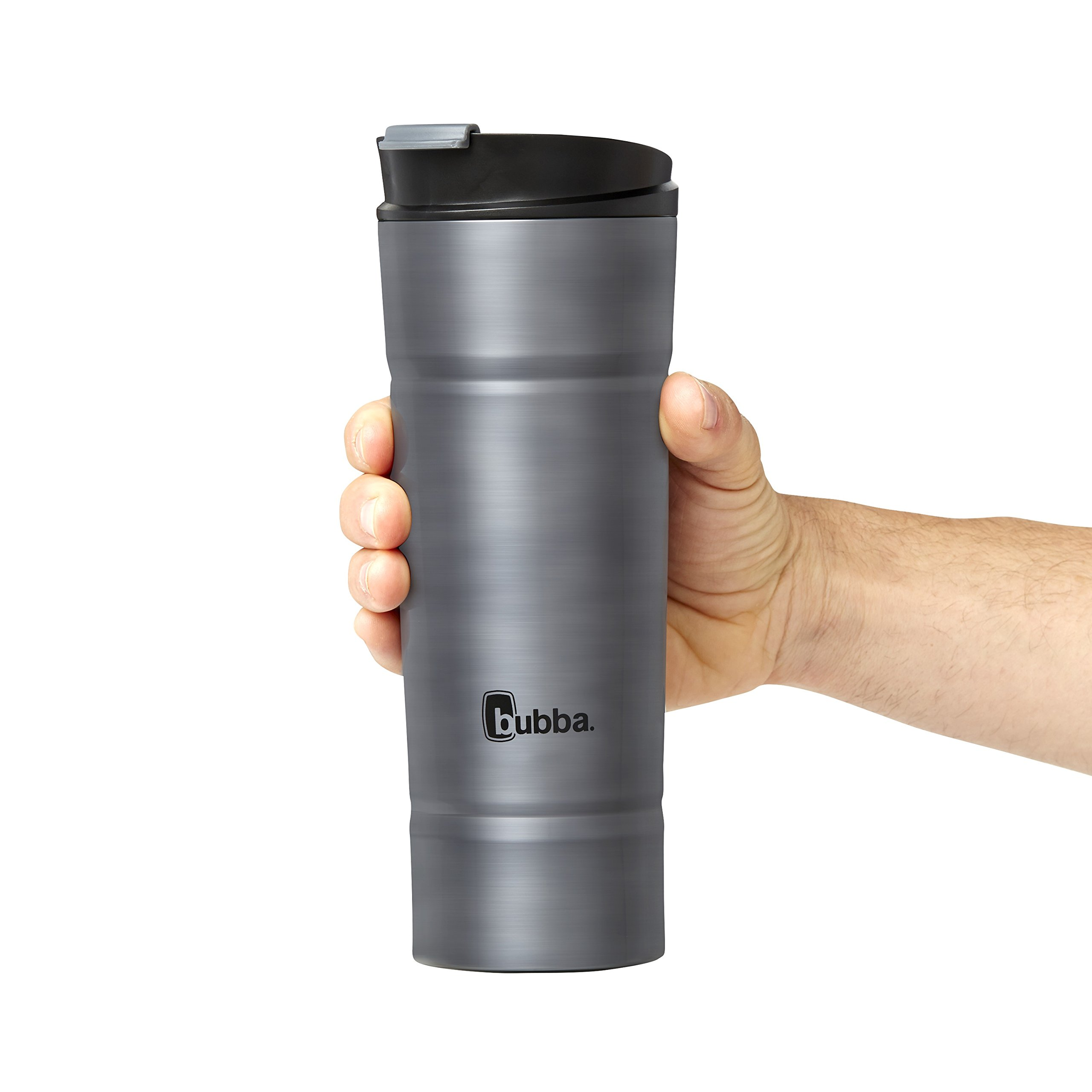 Bubba HT Vacuum-Insulated Stainless Steel Travel Mug, 20 oz, Smoke by BUBBA BRANDS (Image #4)