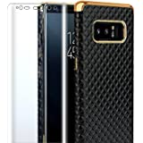 Galaxynote8 cases phone case for samsung galaxy note 8 cover protective note8 gaxaly luxury for women men ultra thin black with screen protector film