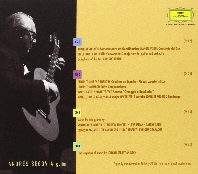 The Segovia Collection [4 CD Box Set]
