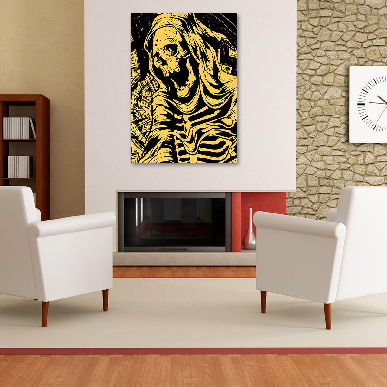 Amazon.com: Reaper Death Skull Grim Dead Body Matte/Glossy Poster A2 (60cm x 42cm) | Wellcoda: Posters & Prints