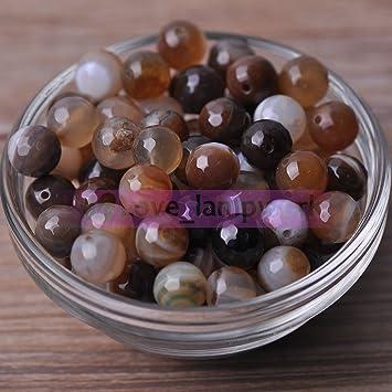 6MM 30Pcs Wholesale Lots Natural Gemstone Round Spacer Loose Beads DIY Stones