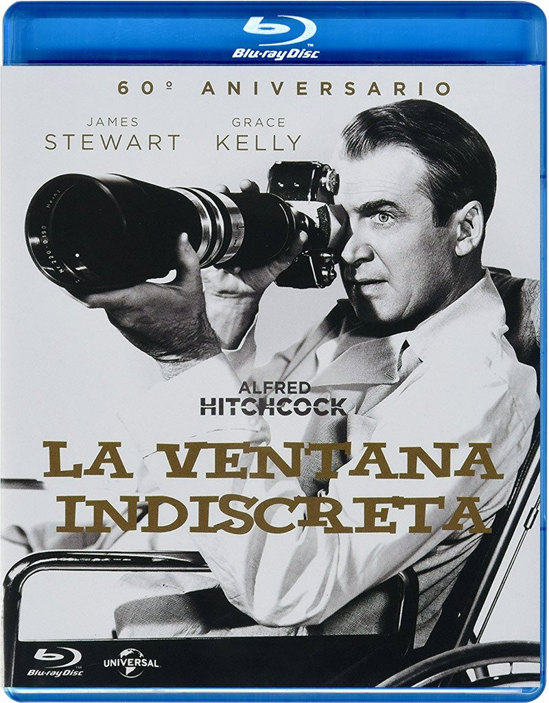Amazon Com Pack La Ventana Indiscreta Postal Blu Ray Import