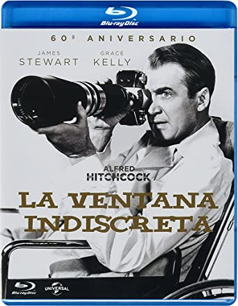 Amazon Com Pack La Ventana Indiscreta Postal Blu Ray Import