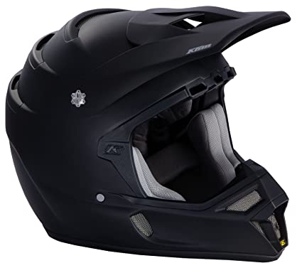 Klim Snell Mens F4 Snocross Snowmobile Helmet - Matte Black / X-Large