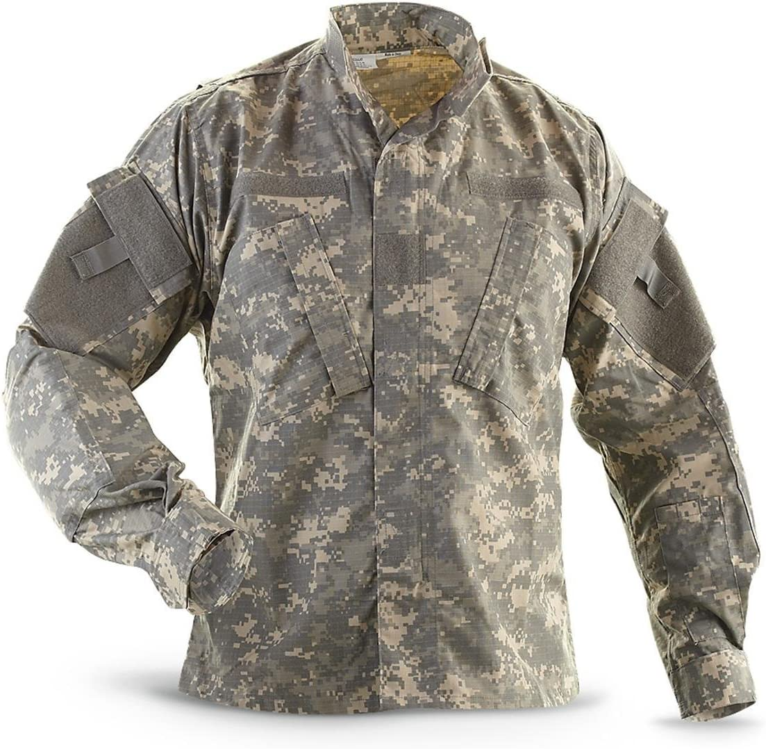 Military Outdoor Clothing Previously Issued ACU Jacket