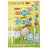 【ピジョン】虫くるりん シールタイプ お徳用 (60枚入) ×10個セット