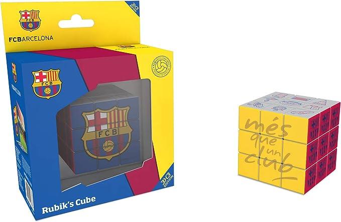 FCB FCBARCELONA Rubiks, Cubo RubikS 3x3 de FC Barcelona (34809), Multicolor: Amazon.es: Juguetes y juegos