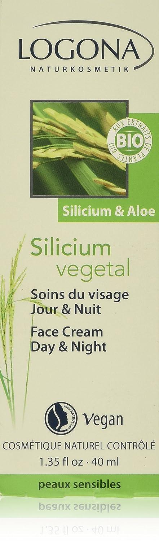 Logona: Silicium vegetal Gesichtscreme Tag & Nacht (40 ml) 2409.0