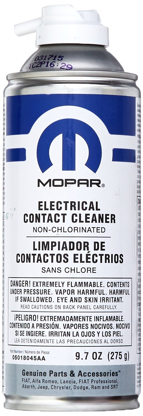 Chrysler Genuine Accessories 5018045AA Electrical Contact Cleaner - 9.7 oz. Aerosol Can by Chrysler