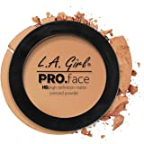 L A Girl HD Pro Face Pressed Powder, Soft Honey, 7g