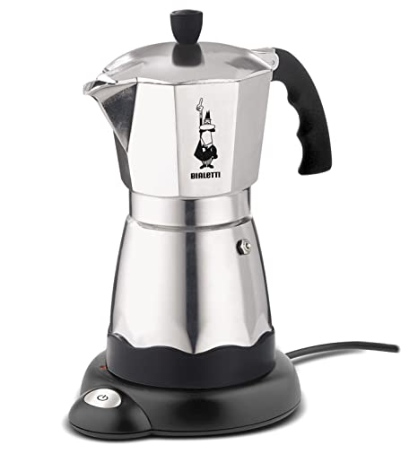 Amazon.com: Bialetti 7009 Easy Cafe cafetera de espresso, 6 ...