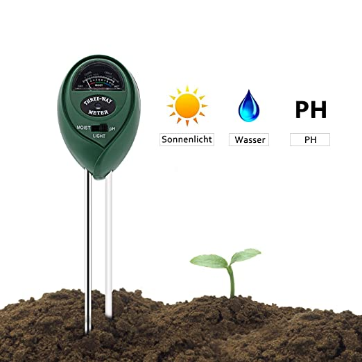 Digital Boden Tester 4 in 1 PH Wert Garten Erde PH Meter PH Messgerät