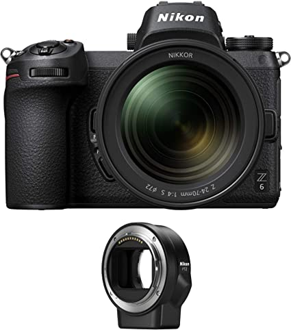 Nikon Z6 Fx Format Spiegellose Kamera Mit 24 70mm F Camera Photo