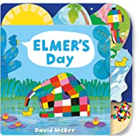 Elmer's Day: Tabbed Board Book