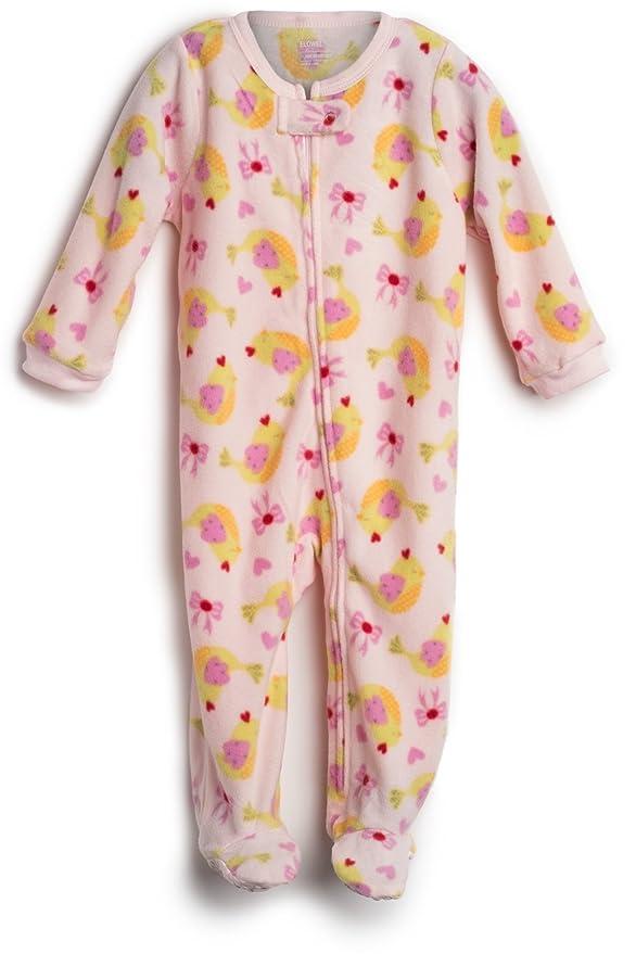 Elowel Pijama para bebe nina, (talla 6 m-5 anos), polar: Amazon.es: Ropa y accesorios