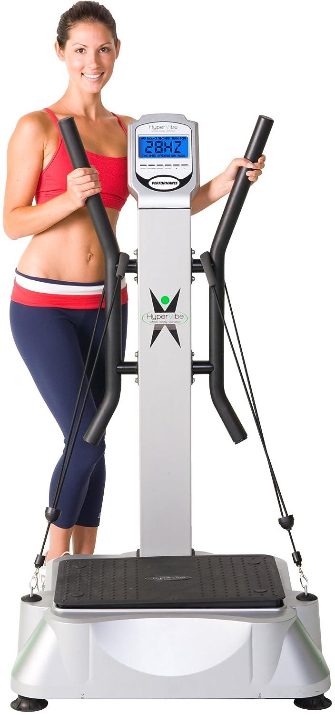HyperVibe + - Plataforma vibratoria de fitness, color plateado ...