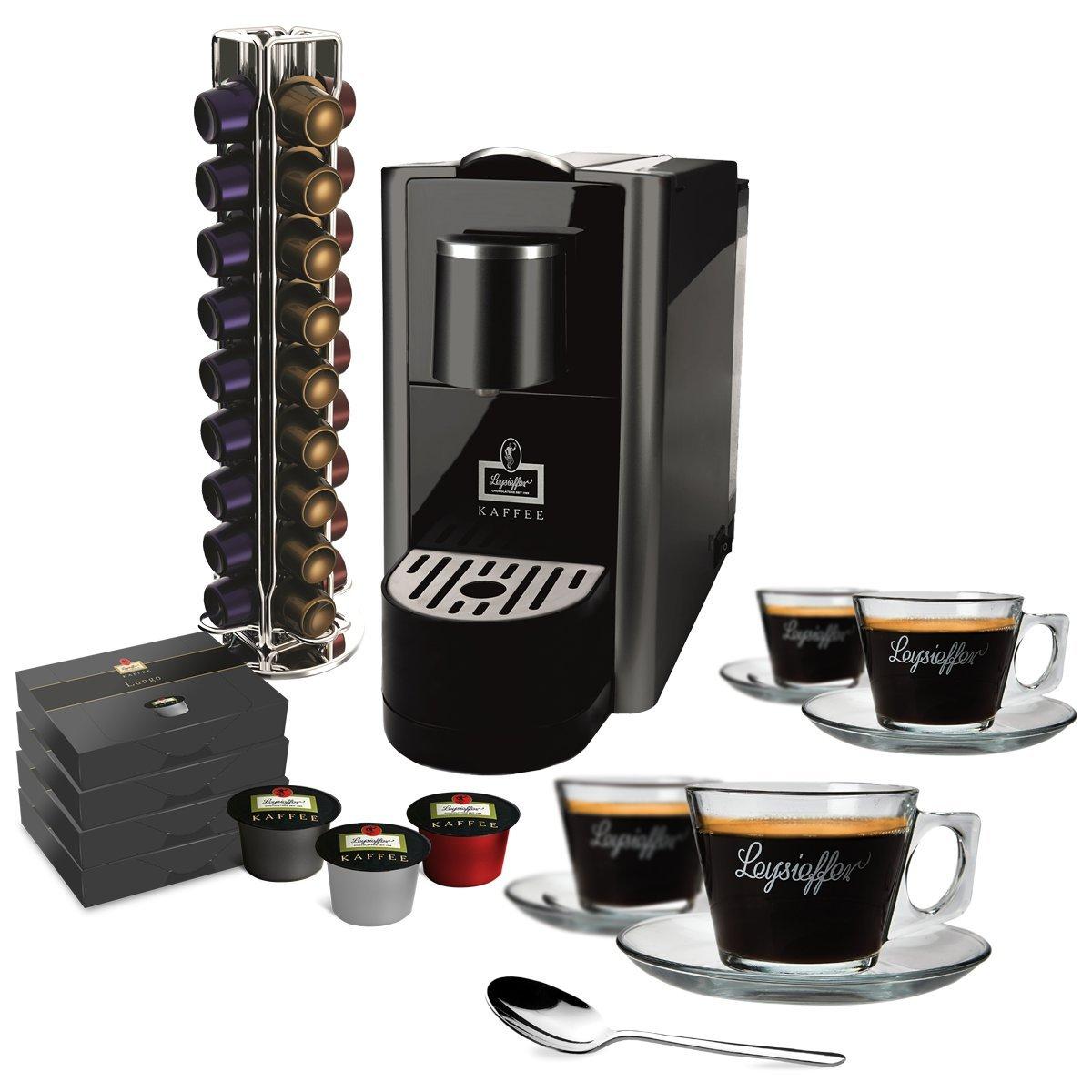 leysieffer Café Oster Acción Premium Cápsula eléctrica con vasos ...