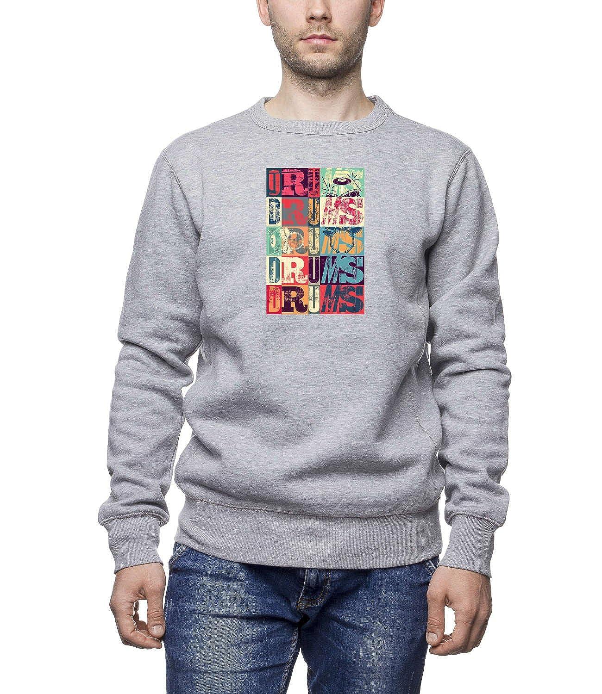 Three Monkeys - Retro Illustration Men's Unisex Sweatshirt
