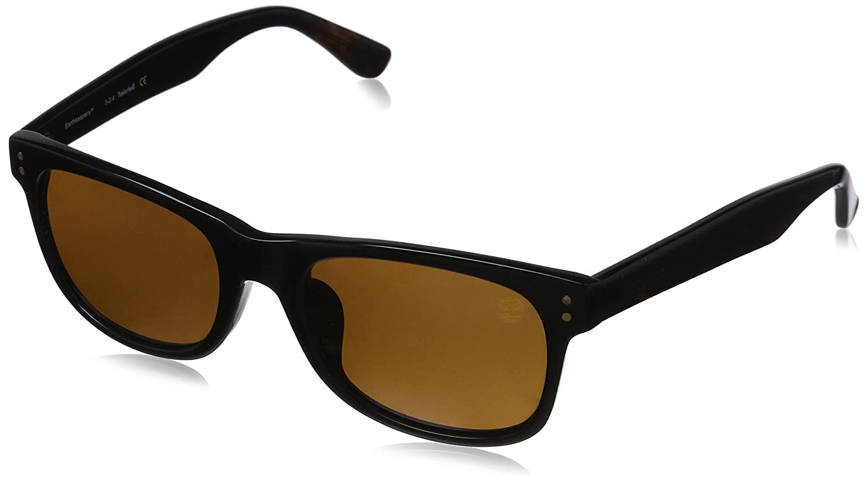 Black 55 Schwarz Timberland Men/'s Sonnenbrille TB9063-F 5501H Sunglasses