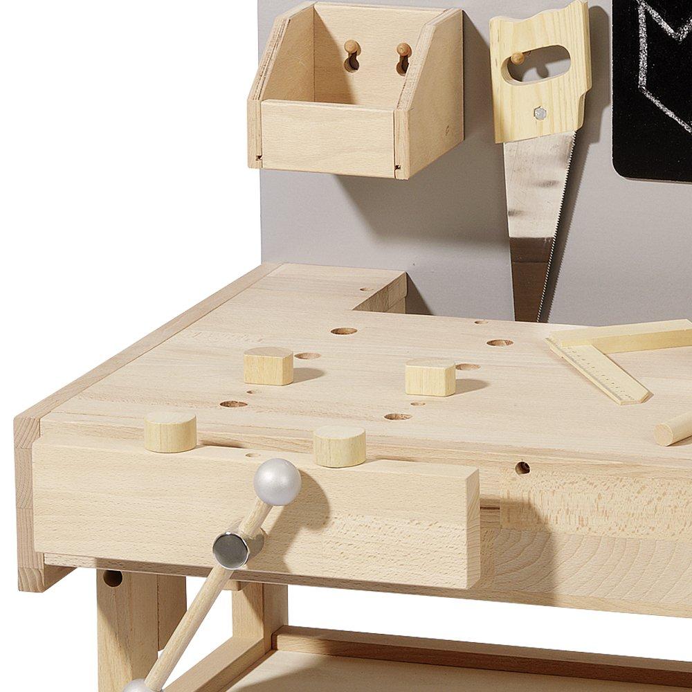 peitz kinderkche holz werkbank fr basteln fr kinder. Black Bedroom Furniture Sets. Home Design Ideas