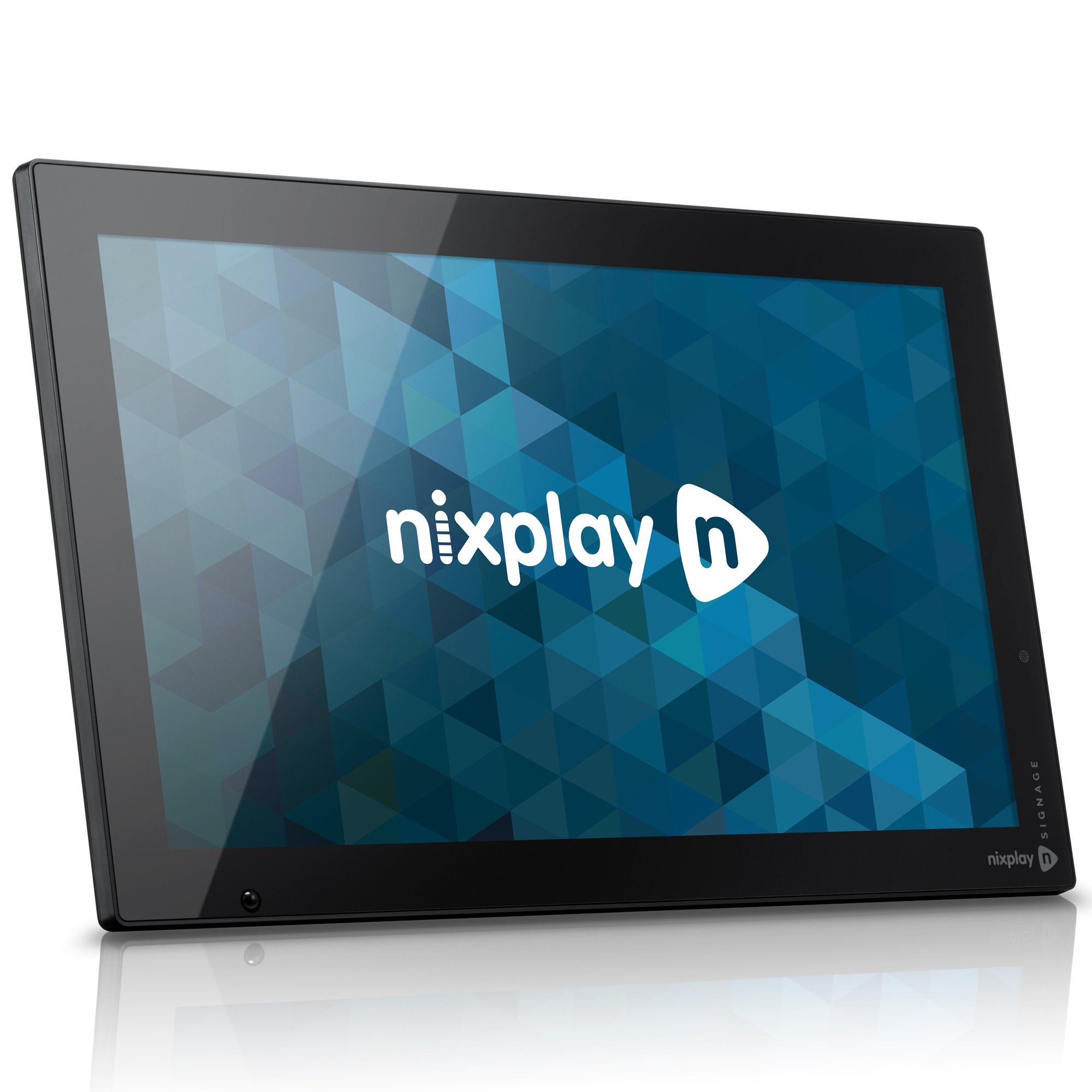 Nixplay Signage 21.5''- simple, scalable and stunning digital signage, ready to use right out of the box. Remote content management, free software trial included. by Nixplay Signage