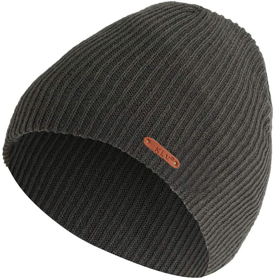 Sikye Ladies Womens Warm Soft Beanie Hat Winter Headwear Elastic Knitting Skull Cap Black