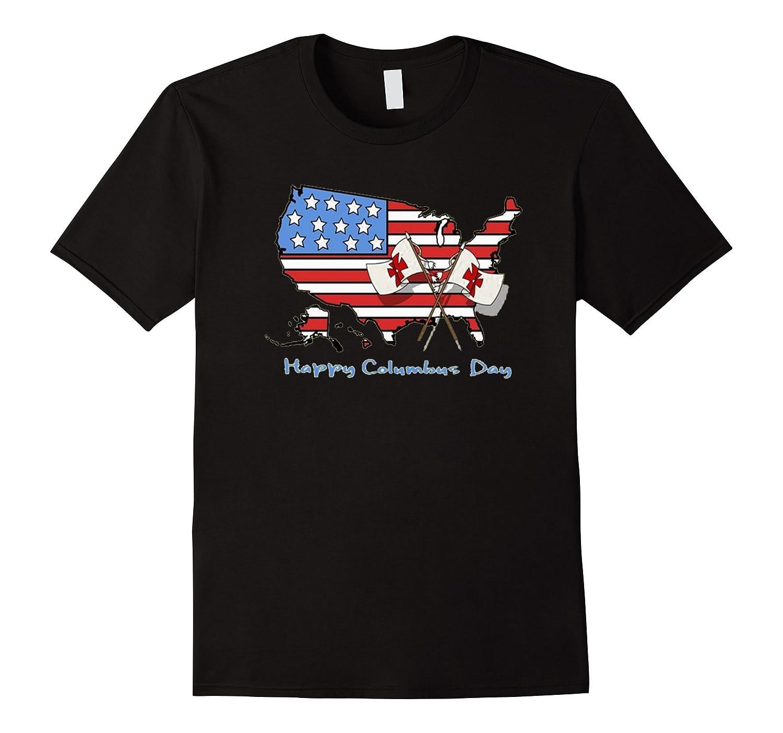 Happy Columbus Day Shirt Masswerks Store