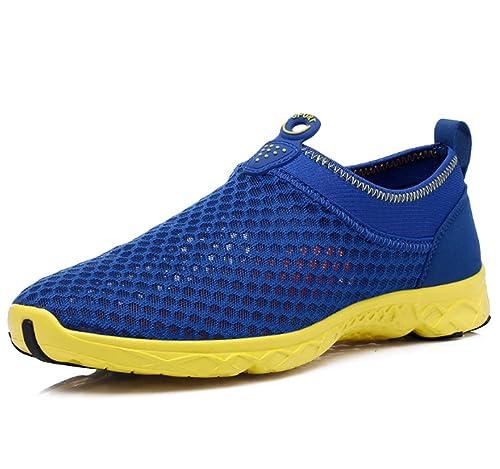 Zapatos Casuales para Hombre Athlectic Trainer Niños Niños Mallas Transpirables Zapatillas para Correr Mocasines al Aire Libre Malla Zapatillas de Moda ...