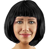 ILOVEFANCYDRESS Adults Thick Quality BOB Wig - 20S Style Party Cosplay Short Wig Available in 12 Different Colours