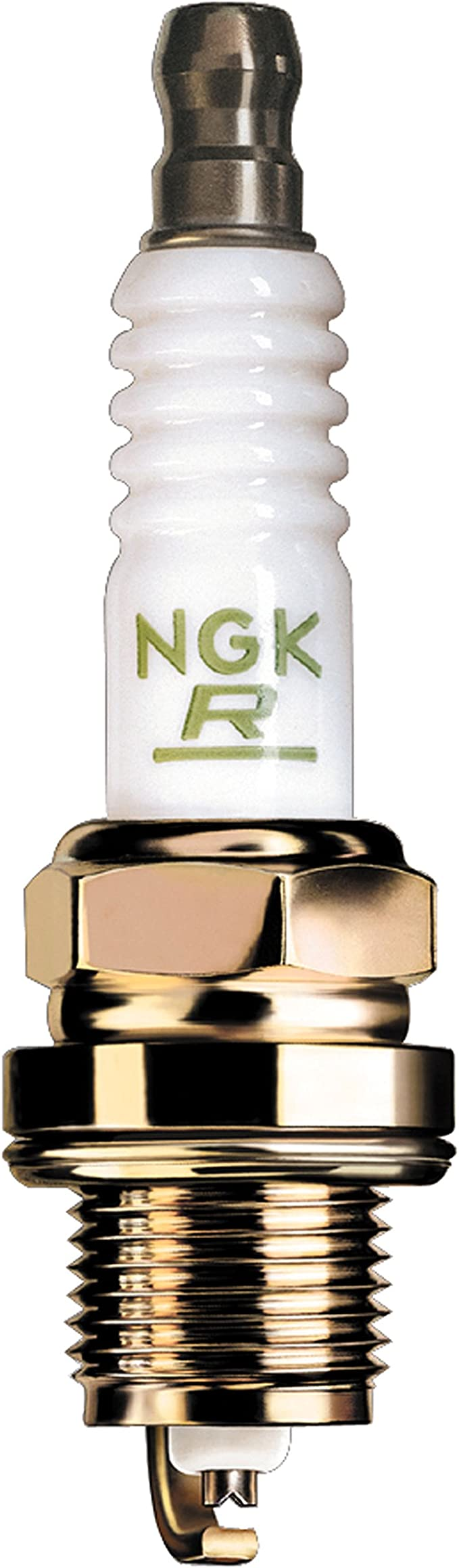 Screw Tip Standard Spark Plugs by NGK B6HS 4 Pack Stock #7534