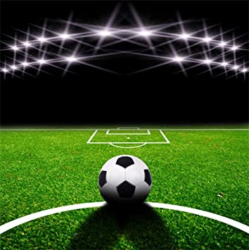 Amazon Com Aofoto 8x8ft Soccer Field Background Football Pitch Goal Ball Game Stadium Spotlight Photography Backdrop Sports Court Club Health Player School Match Photo Studio Props Kid Boy Portrait Wallpaper Camera