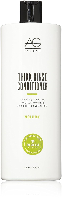 AG Hair Volume Thikk Rinse Volumizing Conditioner, 6 Fl Oz