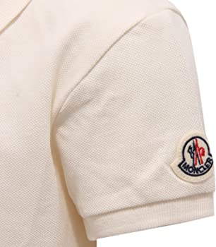 MONCLER 7201Y Polo Girl Bimba Maglia Polo t-Shirt White [8 Years ...