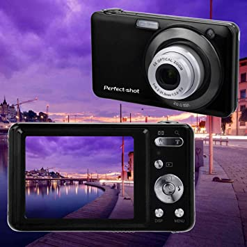 Lorenlli Cámara Digital de Alta definición 8X Zoom óptico 24 ...