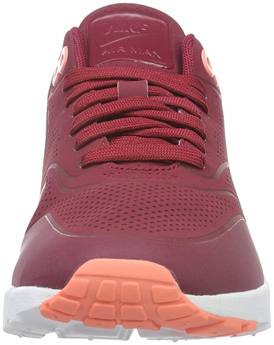 Details about Nike Women's Air Max 1 Ultra Moire 704995 602 Noble Rednoble red Brand New