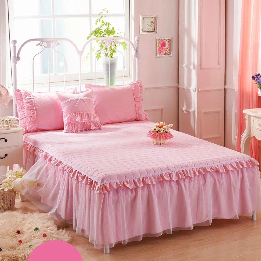 YKFN ベッドスカート エレガント ベッドスプレッド 3点セット ベッドカバー コットン おしゃれ ベッド掛け シンプル 寝具 シーツ B06XFQ3FGL タイプ2 ベッドスプレッド(150*200cm)+ピローカバー(2枚)