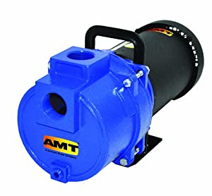 """AMT 379D-95 1-1/2"""" NPT Cast Iron Sprinkler/Booster Pump, 157gpm, 150psi, Buna-N Seal, 3hp"""