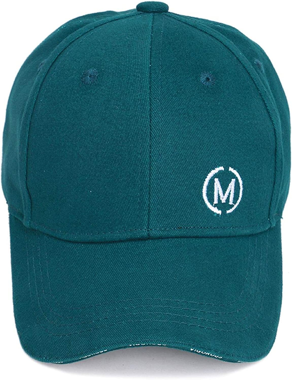 Letter M Embroidery Children Baseball Caps Boy Girl Universal Adjustable Outdoor Sunshade Kids Hats
