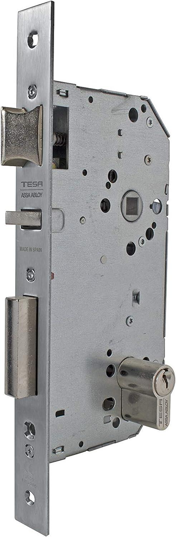 TESA 3010149 Cerradura 2030-hl//60 Latonado Entrada 60 mm