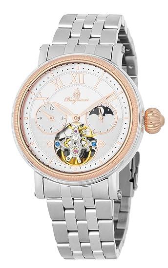 Burgmeister reloj caballero automatico Lakewood, BM344-311: Amazon.es: Relojes