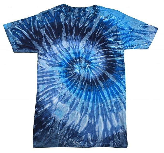 Buy Cool Shirts Mens Tie Dye Shirt Navy Blue Evening Sky Swirl T-Shirt 3XL 2dd1c23ac9ad