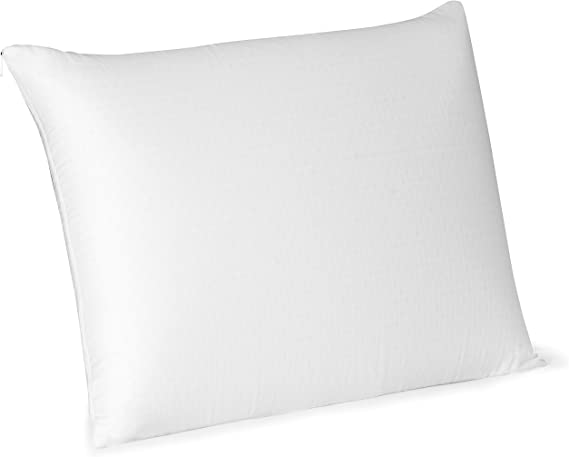 beautyrest latex pillow with removable cover standard