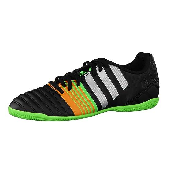 adidas Nitrocharge 4.0 IN BLAU/RUNWHT - 9 1mdEsjD