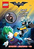 Lego The Batman Movie - Chaos à Gotham City ! : Avec une figurine Lego Batman exclusive