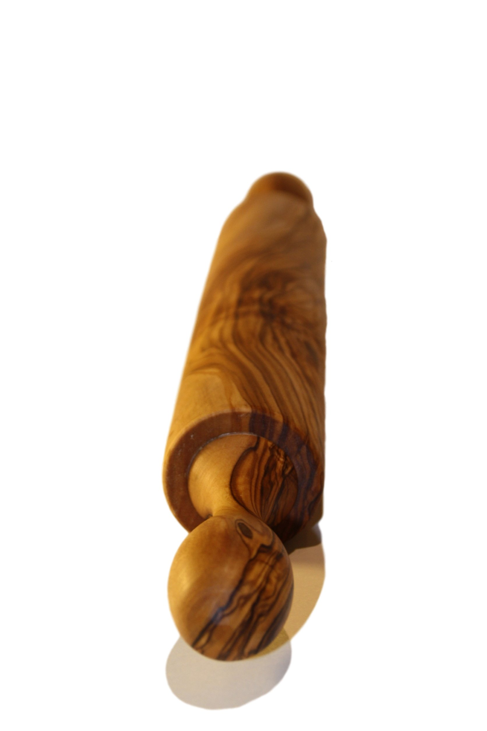 Cucina Priolo - Olive Wood Rolling Pin, Unique Natural Handcrafted, Essential Cooking and Baking Tool by Cucina Priolo (Image #4)