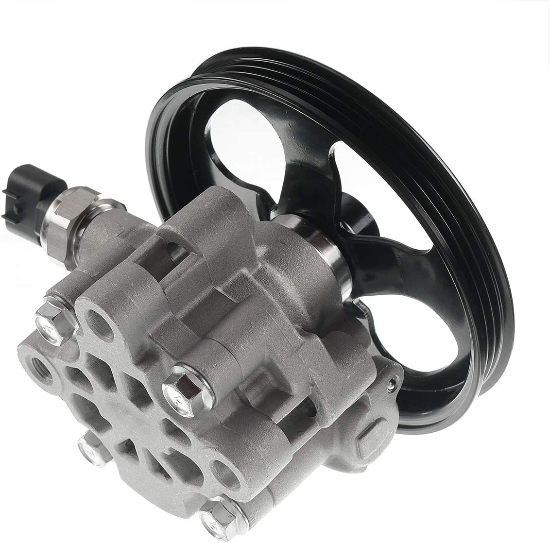 Power Steering Pump Assembly Compatible with Toyota Echo 2000-2005 Scion xA xB 2004-2006 I4 1.5L