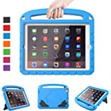 """LTROP iPad 4/3/ 2 Case for Kids - Light Weight Shock Proof Convertible Handle Stand Case for iPad 9.7"""" iPad 4th Generation/iPad 3rd Generaion/iPad 2 - Blue"""